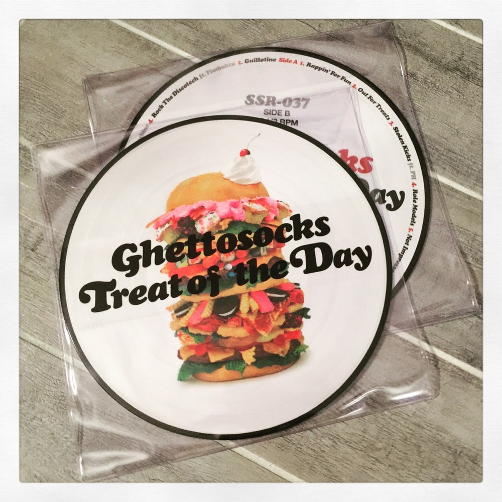 Treat of the Day picture disc